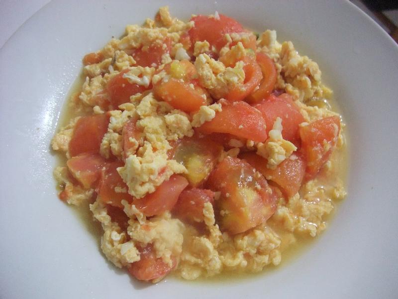【小雨食堂】番茄炒蛋