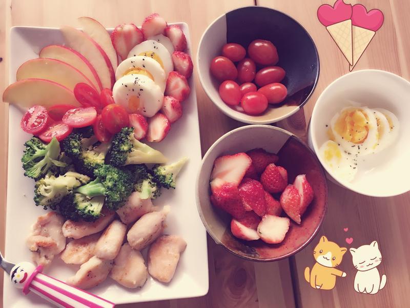 低肪高纖早餐