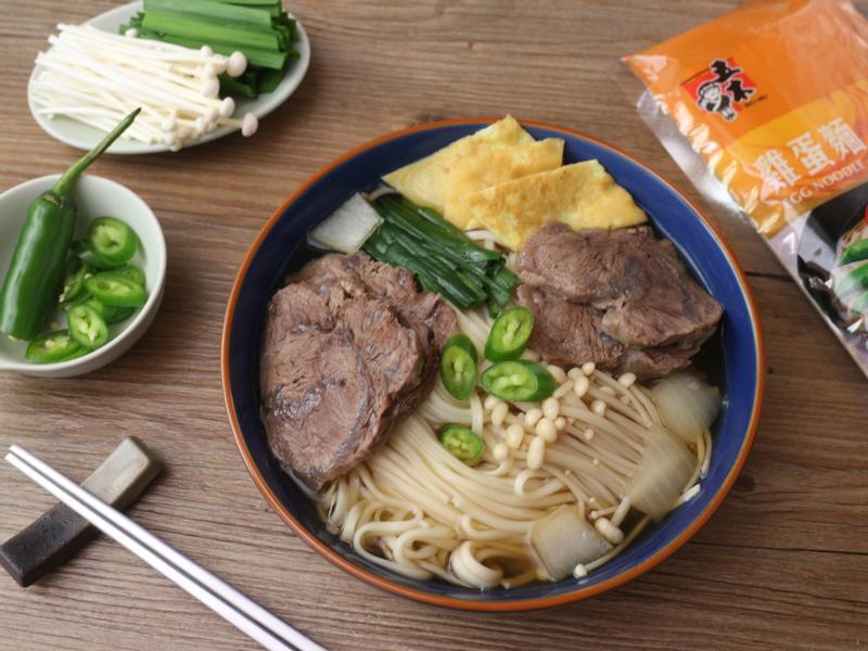韓式牛肉湯麵