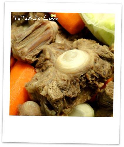 補氣牛尾蔬菜湯