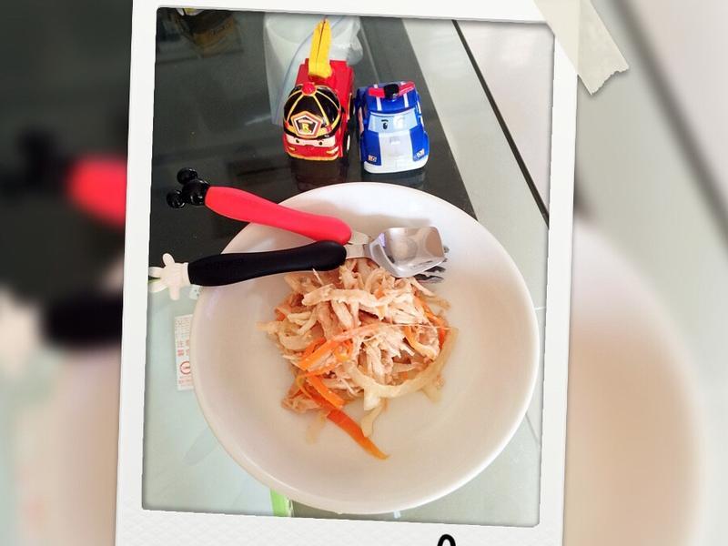 涼拌鮪魚雞絲