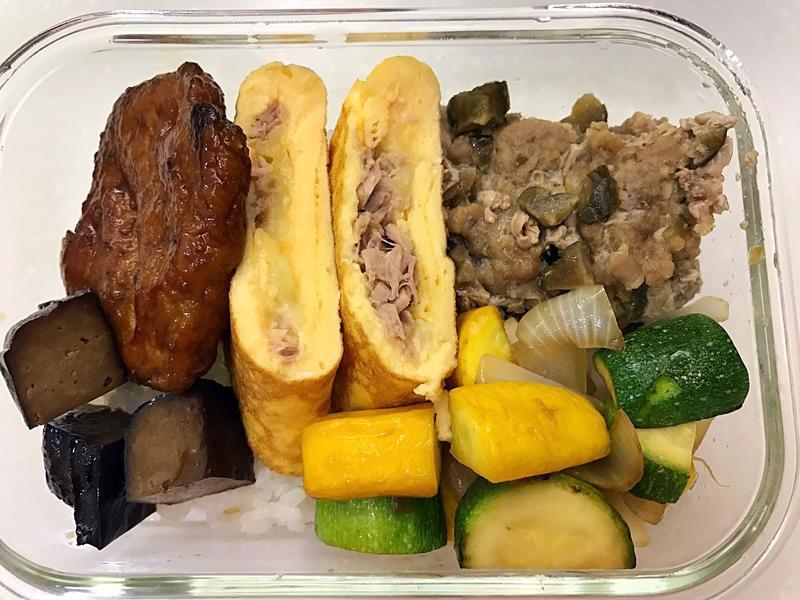 お弁当-170419-起司鮪魚蛋餅
