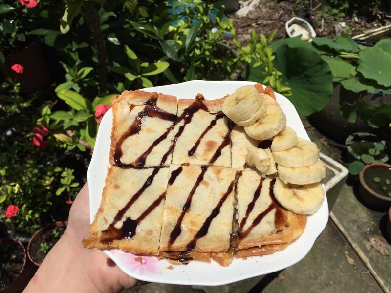 法式香蕉吐司煎餅