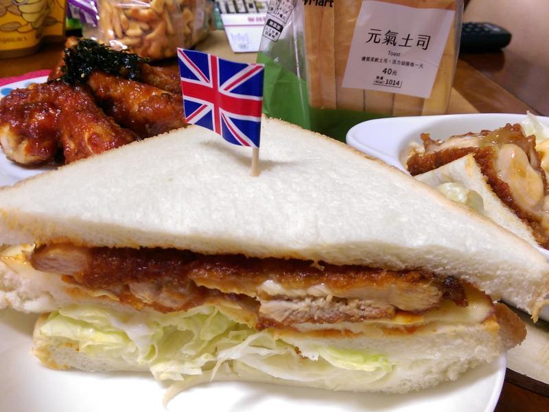 韓式炸雞三明治