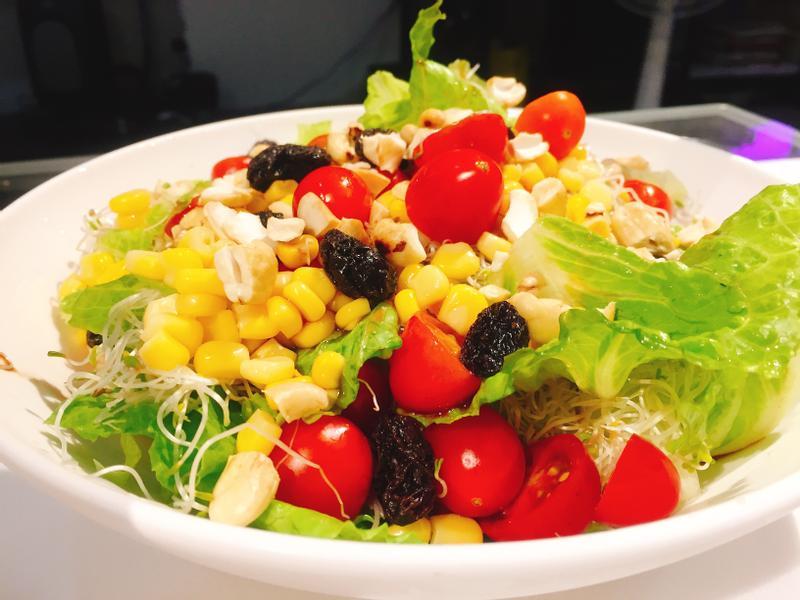 蔬食生菜沙拉