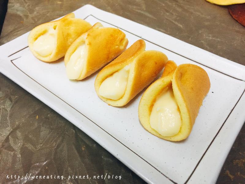 平底鍋做小元寶(半月燒)