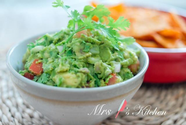 健康墨西哥酪梨沙拉醬Guacamole