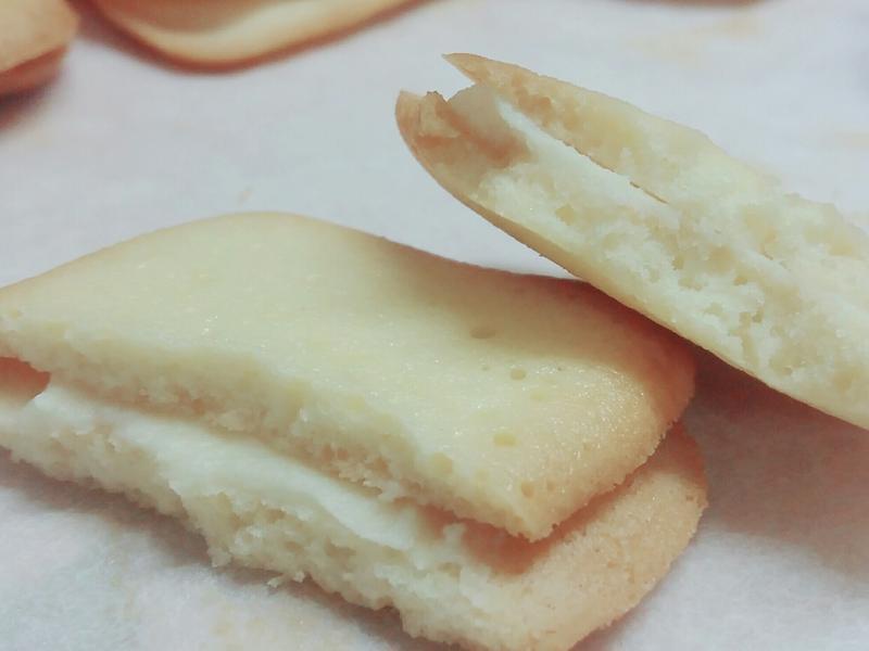 白巧克力夾心餅乾