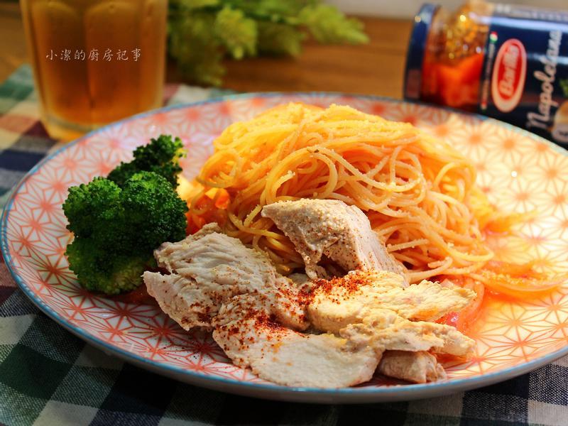 茄汁嫩雞天使細麵【百味來私房美味】