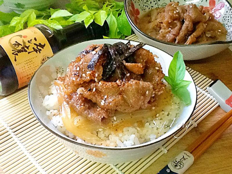 和風牛肉丼飯【淬釀全菜單挑戰賽】