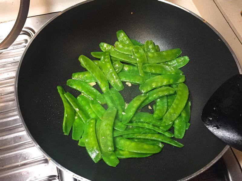 醬炒荷蘭豆(簡單快速無腦)
