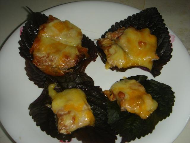 芝心大葉藏銀刀 (焗烤蒲燒秋刀魚)