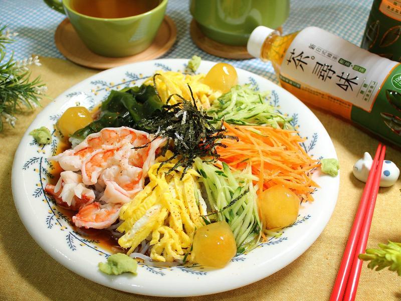 日式蒟蒻涼麵【黑松茶。尋味新日式綠茶】