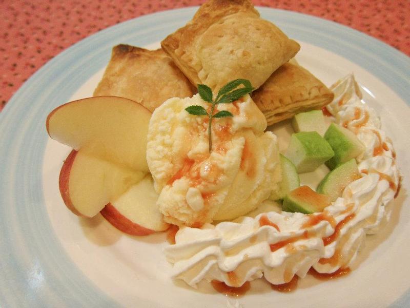 【吳双の愛妻甜點】低熱量的冰淇淋蘋果派