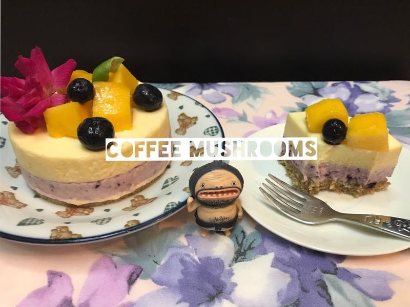 藍莓芒果慕斯蛋糕