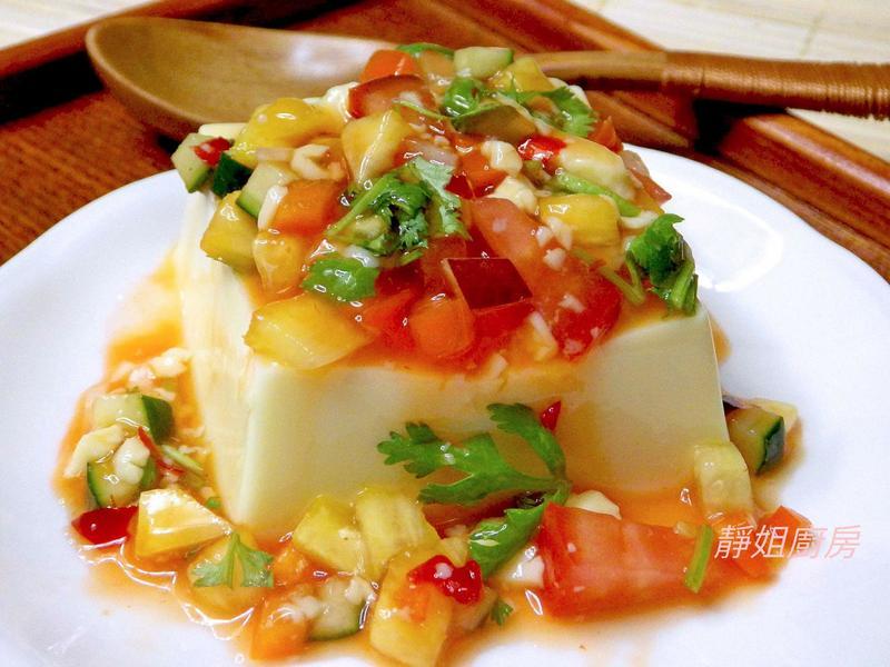 泰式莎莎醬涼拌豆腐