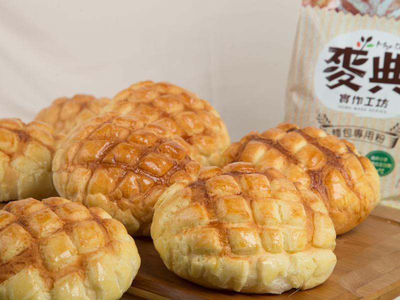 菠蘿麵包【麥典實作工坊麵包專用粉】