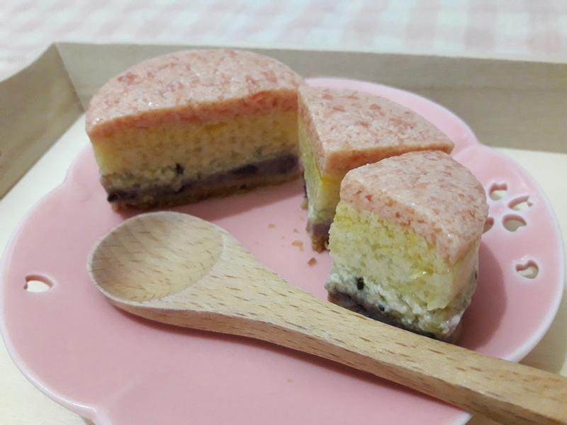 彩虹水果優格豆腐慕斯蛋糕