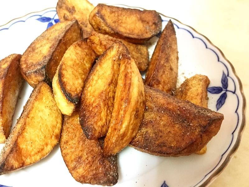 半煎炸馬鈴薯(下午茶小點心)