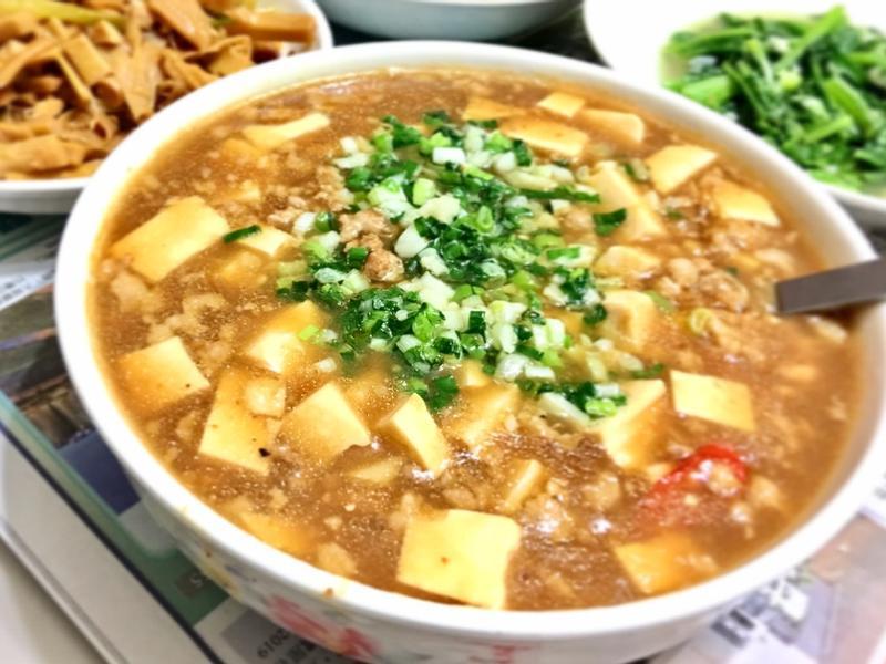 麻婆豆腐(燴飯)