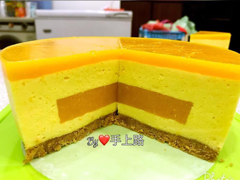 芒果藏心慕斯蛋糕(6吋、免烤箱)