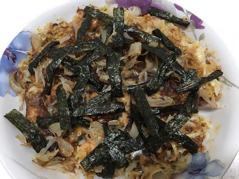 胭脂蝦大阪燒