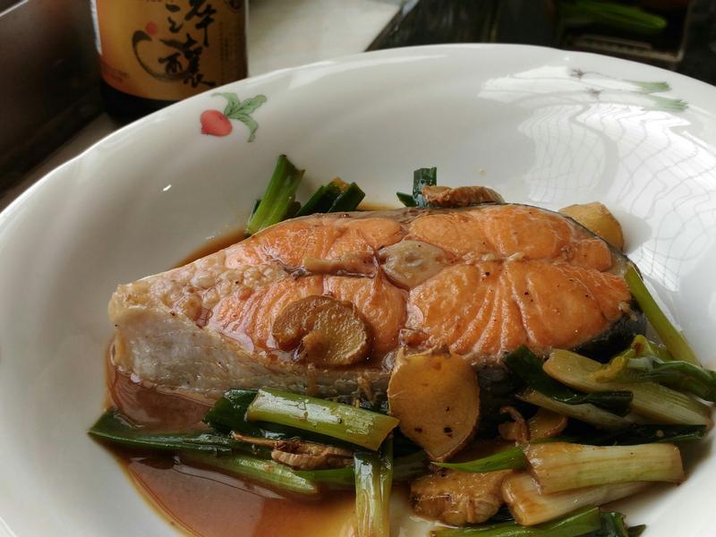 醬燒鮭魚(淬釀全菜單挑戰賽)