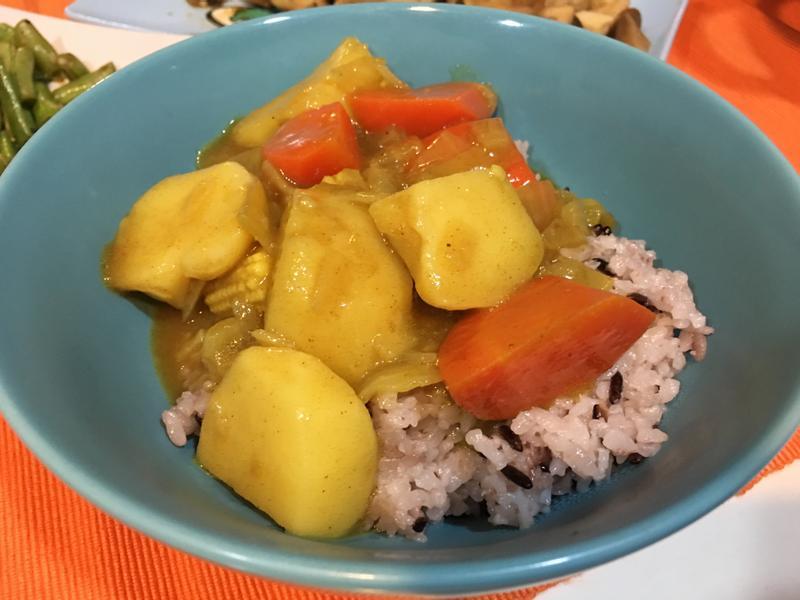 馬鈴薯蔬食咖哩