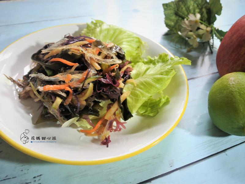 涼拌蔬果海藻絲