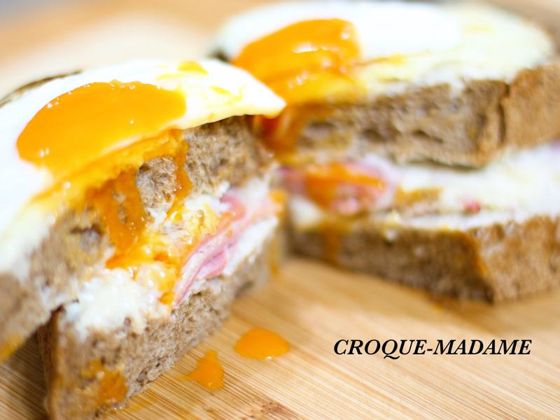 法國三明治 croque-madame