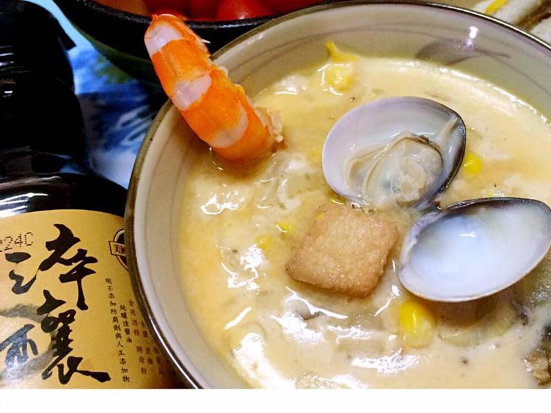 椰奶海鮮茶碗蒸【淬釀全菜單挑戰賽】