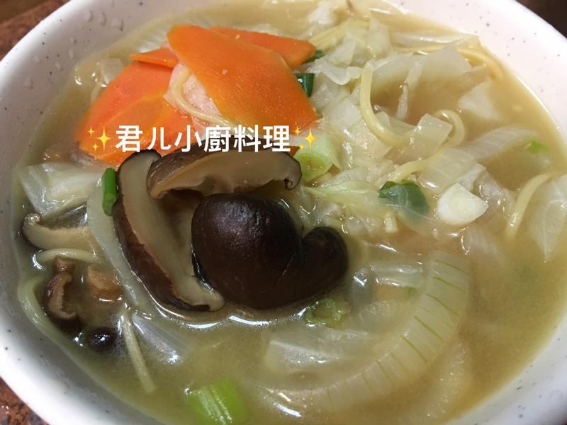 輕蔬食湯麵🍜