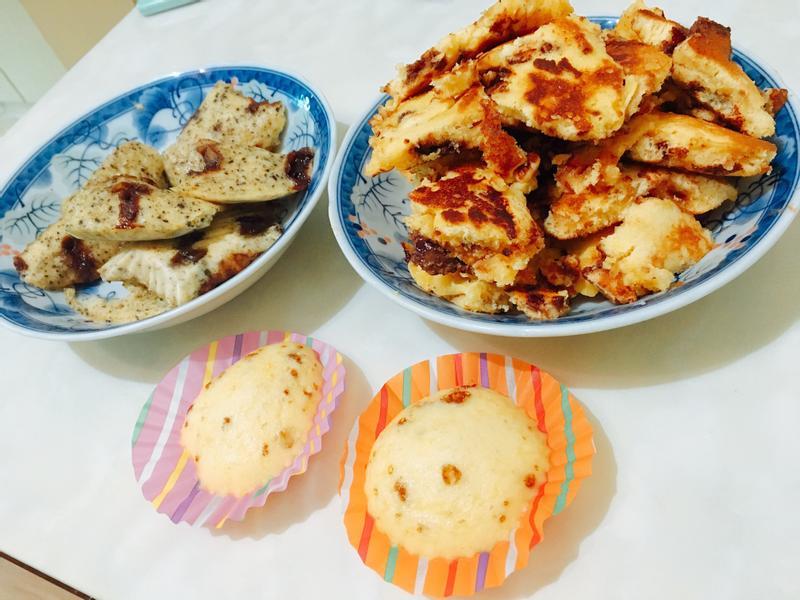 蜂蜜巧克力鬆餅&芝麻鬆餅