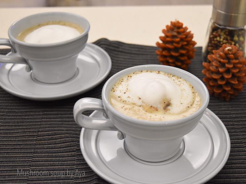 蘑菇卡布奇諾濃湯