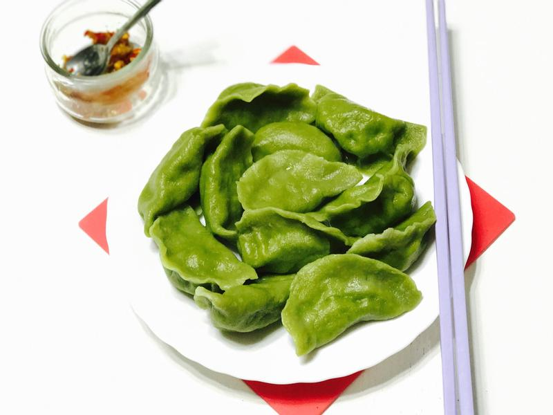 翠玉水餃Jade dumpling
