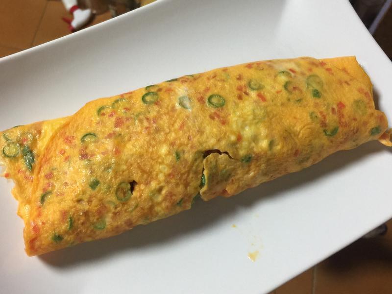 蔬菜雞蛋捲