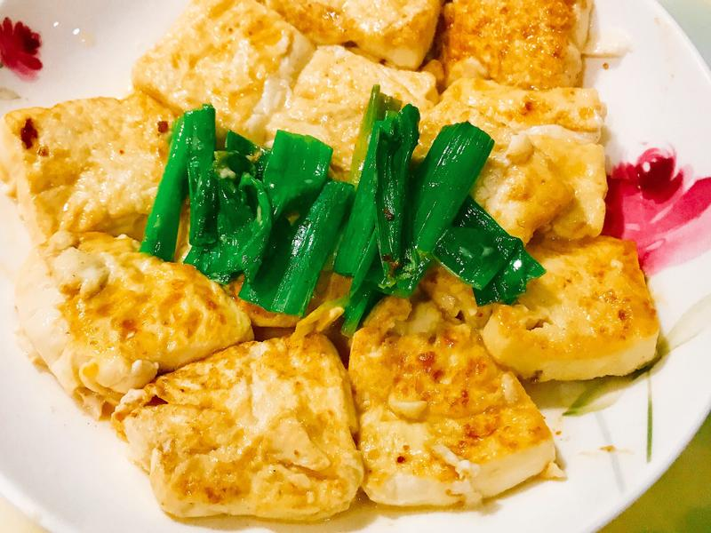 給新手超簡單「蔥燒豆腐乳豆腐」✨