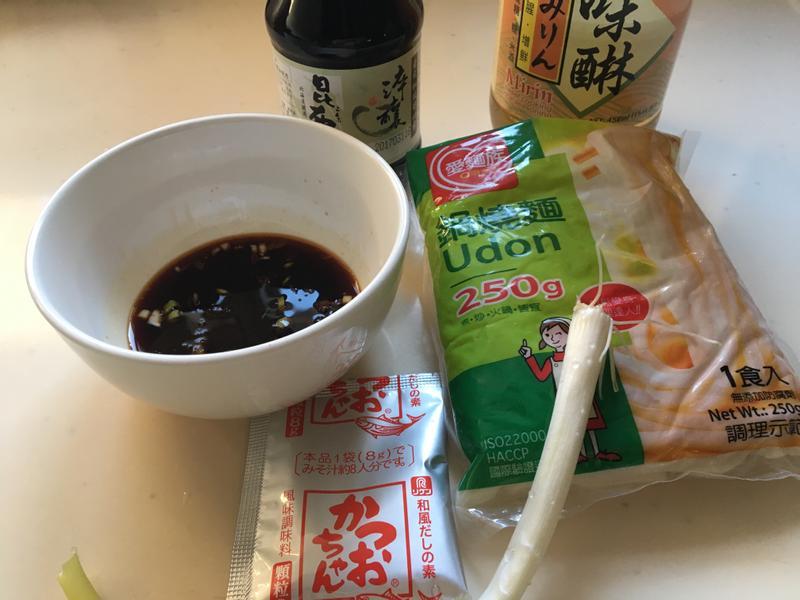 日式烏龍沾麵
