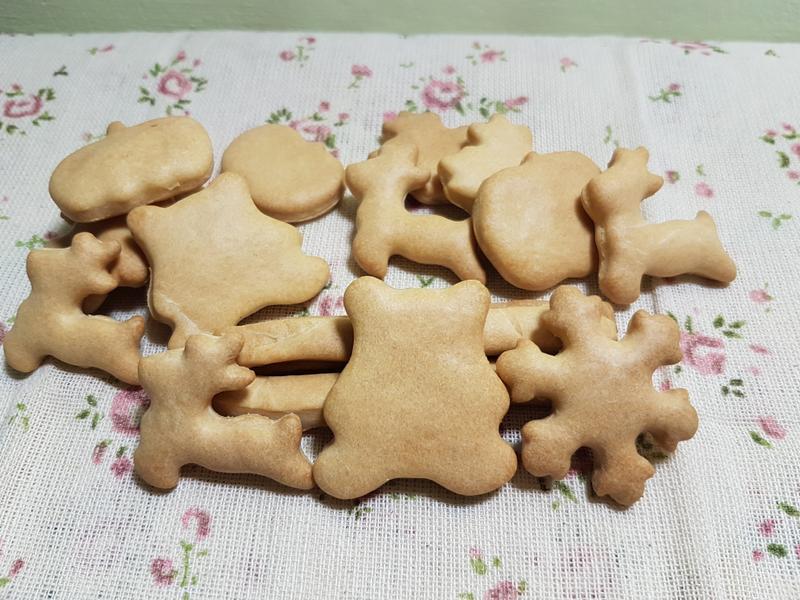 【狗狗版】奶香餅乾