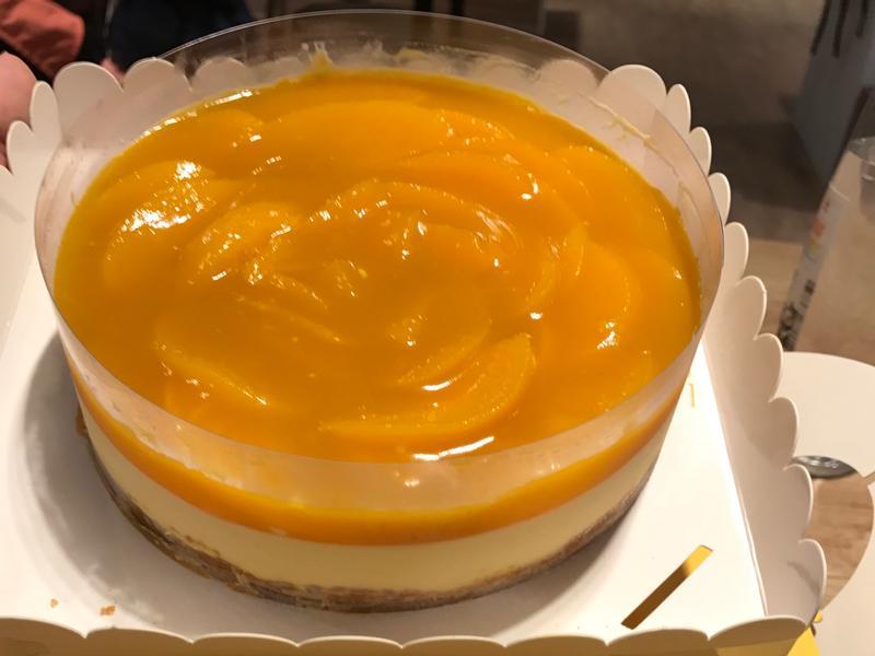 夏季限定~蜜桃芒果慕斯蛋糕🎂