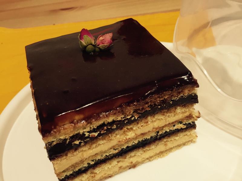 給咖啡控的[opera cake]