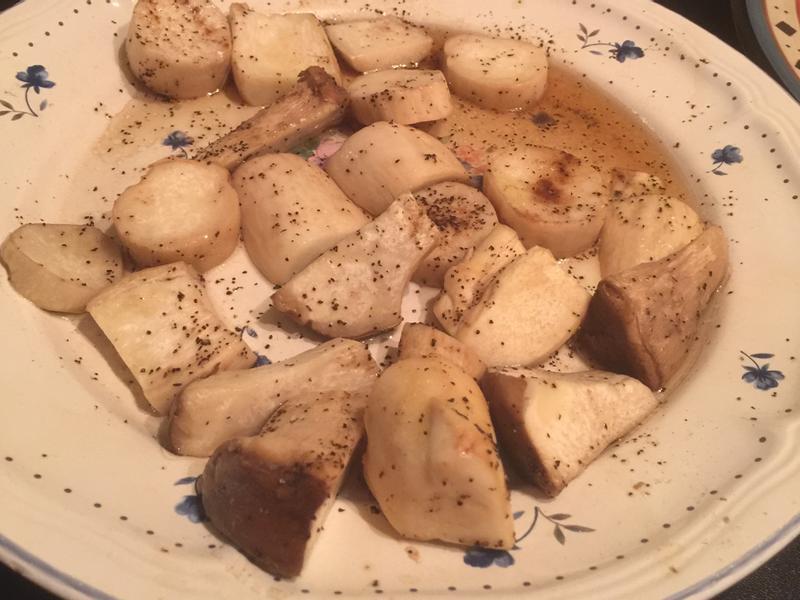 醬油椒鹽烤杏鮑菇