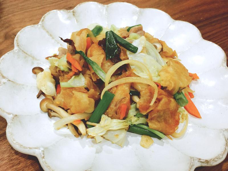 木須蔬菜炒餅