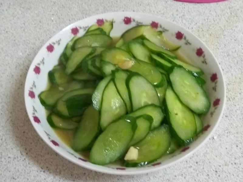 清炒小黃瓜