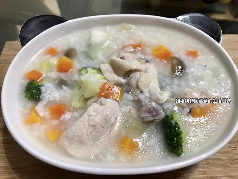 『寶寶食譜』洋蔥雞湯粥(感冒食譜)