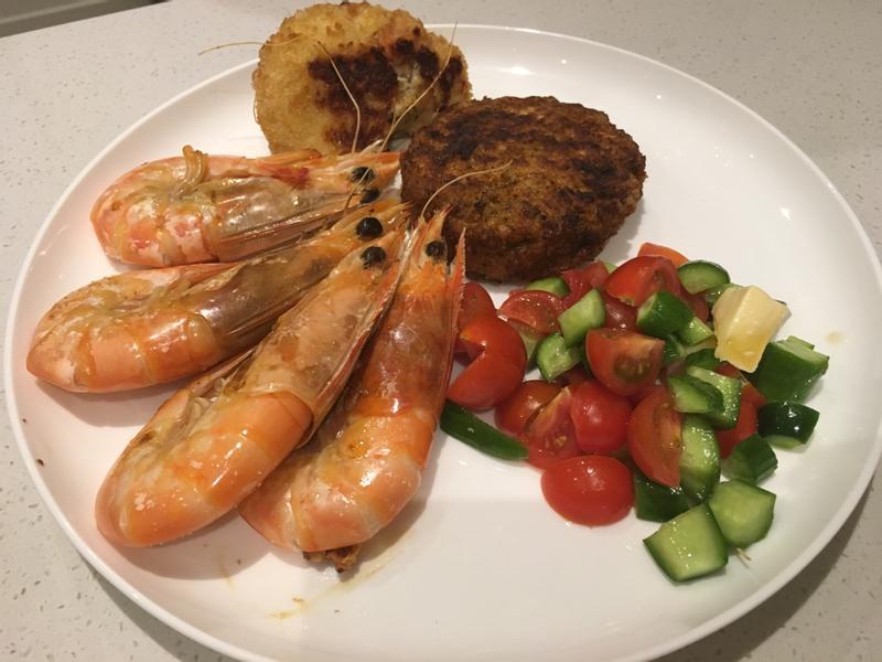 義式香料烤蝦