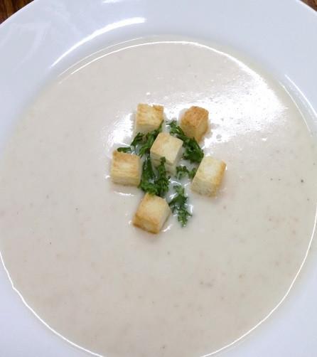 蒜苗馬鈴薯冷湯