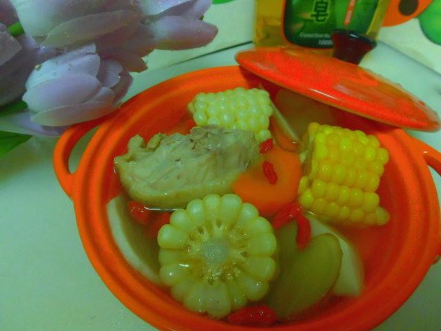 竹筍玉米雞湯 南僑水晶肥皂_食器洗滌液體