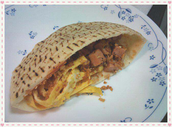 中東特色小吃 - PITA :自創素食版