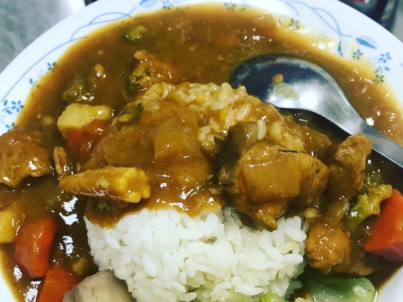 咖喱雞肉飯